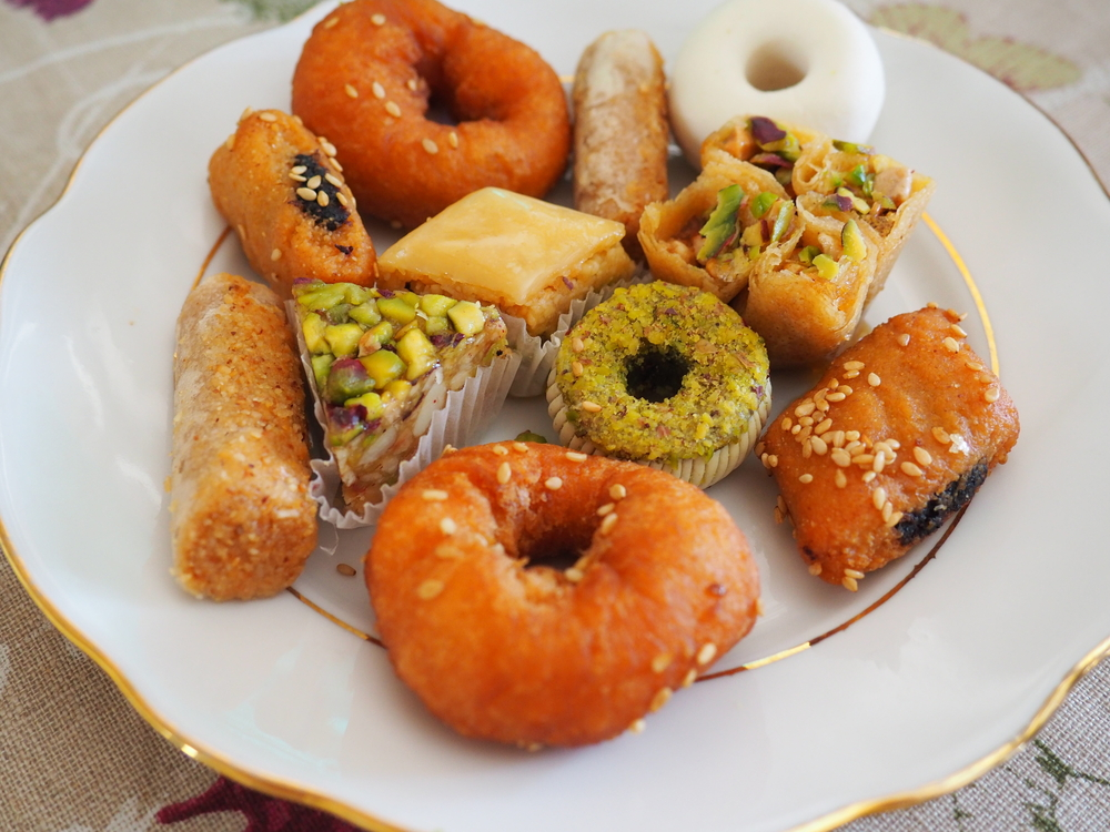 Tunisia - Tunisian Food - Traditional Tunisian pastries/ Tunisian pastries